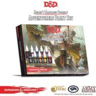 D&D Málningarsett: Adventurers Paint Set