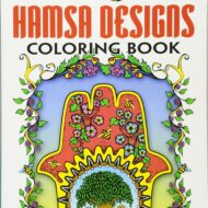 Creative Haven Hamsa Designs – Litabók
