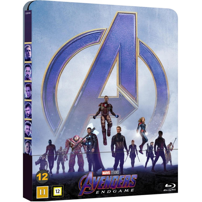 Avengers Endgame Steelbook (Blu-ray)