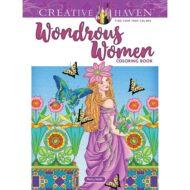 Creative Haven Wondrous Women Coloring Book – Litabók