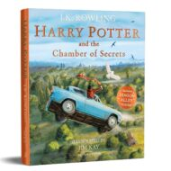 Harry Potter and the Chamber of Secret illustrated paperback