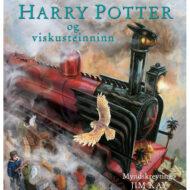 Harry Potter og viskusteinninn myndskreytt