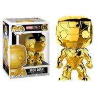 Marvel 10th Anniversary Chrome Iron Man Pop! Vinyl Figure