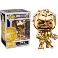 Marvel 10th Anniversary Chrome Hulk Pop! Vinyl Figure