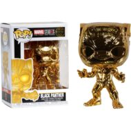 MCU 10th Anniversary Chrome Black Panther Pop! Vinyl Figure