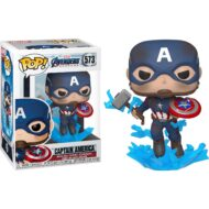 Avengers: Endgame Captain America Broken Shield Pop! Figure