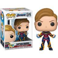 Avengers: Endgame Captain Marvel New Hair Pop! Vinyl Figure