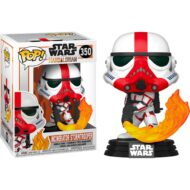 Star Wars Mandalorian Incinerator Trooper Pop! Vinyl Figure