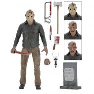 Friday the 13th 7″ Action Fig- Ultimate Part 4 Jason