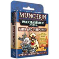 Munchkin: Warhammer 40k Faith & Firepower viðbót
