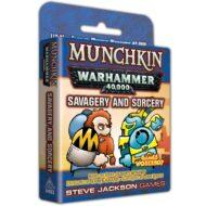 Munchkin Warhammer 40k: Savagery & Sorcery viðbót