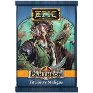 Epic Card Game Pantheon Furios vs Maligus