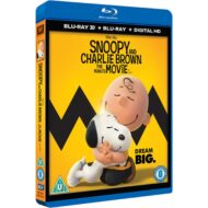 Snoopy And Charlie Brown The Peanuts Movie 3D (Blu-ray)