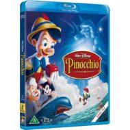 Disney Pinocchio með íslensku tali (Blu-ray)