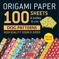 Origami Paper 100 Sheets 15 cm Dog Patterns