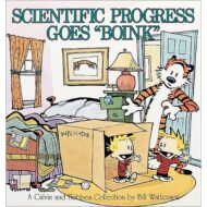 "Calvin And Hobbes: Scientific Progress Goes ""Boink"""