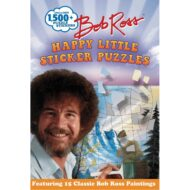 Bob Ross Happy Little Sticker Puzzles ( Sticker Art Puzzles )