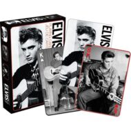 Elvis – Black and White Playing Cards
