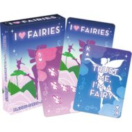 I Heart Fairies Playing Cards
