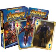 Marvel Infinty Wars Playing Cards