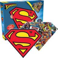Superman merki tveggja hliða púsl 600 bitar