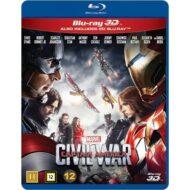Captain America Civil War 3D (Blu-ray)