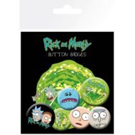 Rick and Morty Characters – Badge Pack