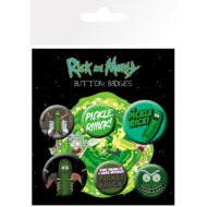 Rick and Morty Pickle Rick – Badge Pack