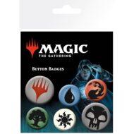 Magic The Gathering Mana Symbols – Badge Pack