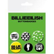 Billie Eilish Stickman – Badge Pack