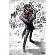 DC Comics Joker Asylum Portrait – Maxi Poster