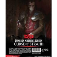 D&D Curse of Strahd: Dungeon Master's Screen