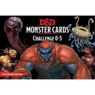 D&D Monster Cards: Challenge 0-5