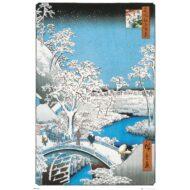 Hiroshige The Drum Bridge – Maxi Poster