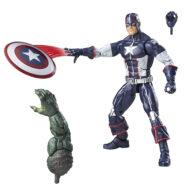 Marvel Legends Secret War Captain America Action Figure