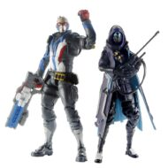 Overwatch Ultimates Action Figure Dual Packs Wave 1 – Shrike Ana And Soldier 76