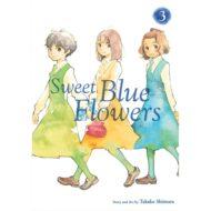 Sweet Blue Flowers  Vol 03
