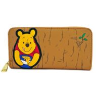 Winnie The Pooh Front And Back Zip-around Wallet