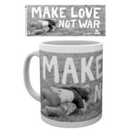 Woodstock Make Love Not War – Mug