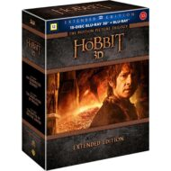 The Hobbit Trilogy Extended 3D (Blu-ray)