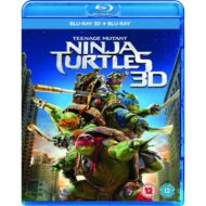Teenage Mutant Ninja Turtles 3D (Blu-ray)