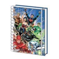 Justice League United A5 Wire stílabók