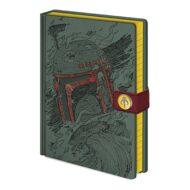 Star Wars (Boba Fett Art) A5 Premium stílabók