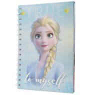 Frozen 2 (Sisters) A5 Metallic stílabók