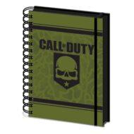 Call Of Duty Evergreen (Skull) A5 stílabók