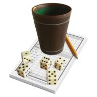 Dice Cup & Yatzee