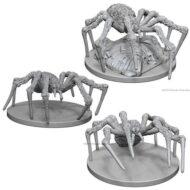 D&D fígurur Spiders