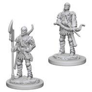 D&D fígurur (Pathfinder) Town Guards