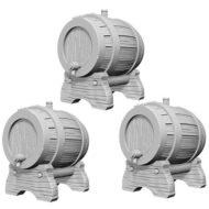 D&D fígurur Keg Barrels