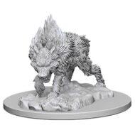 D&D fígurur (Pathfinder) Dire Wolf